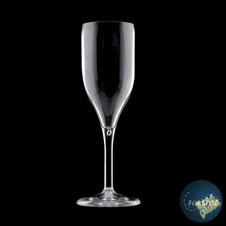 Sklenice FLUTE šampaňské nerozbitná průhledná,