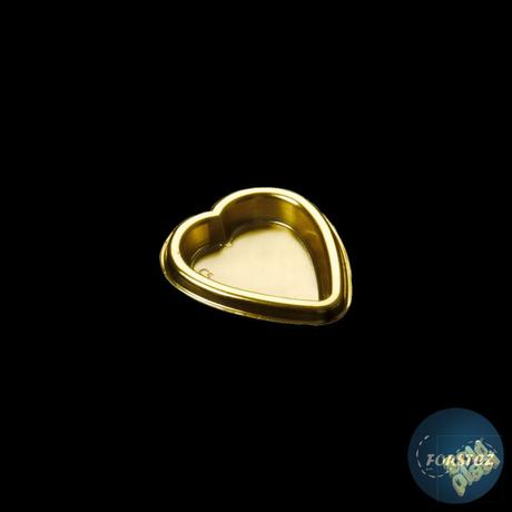 Srdíčkový malý podnos - 55x50 mm,