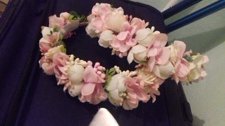 Kvetinove celenky pre male druzicky,
