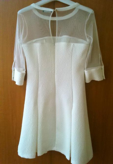 spoločenské/ svadobné šaty, 38