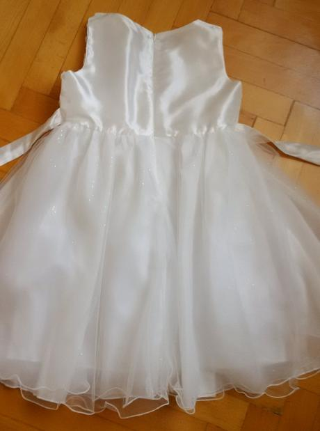 Družičkovské šaty / na 1. sv. prijímanie 140-146, 140