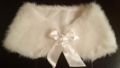 Luxusné svadobné bolerko/ štóla/ pelerína,