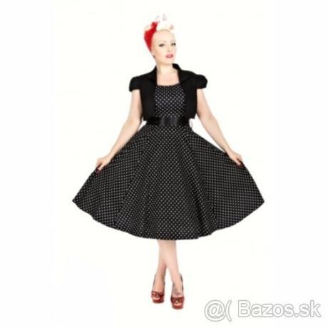 350543327281 Retro šaty + tylová spodnička