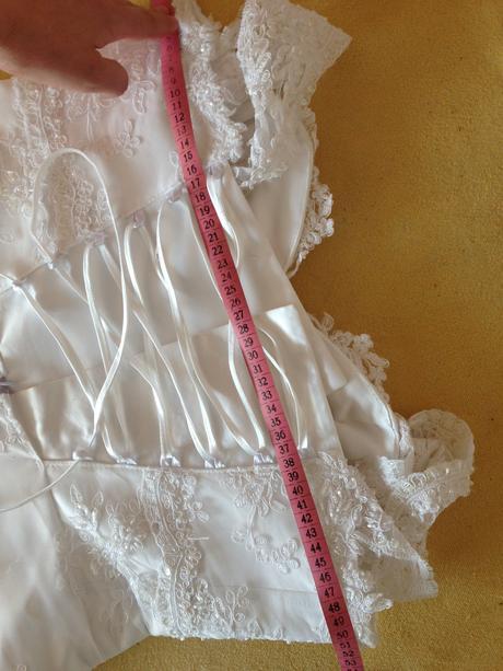 Svatební těhotenské šaty 38-42, 40