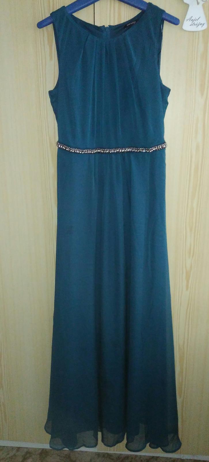 Azúrovo zelené šaty c05ee52c094