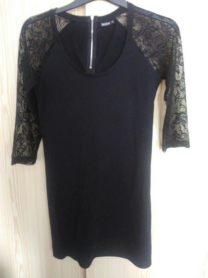 Dámske čierne šaty bc98a0b0d46