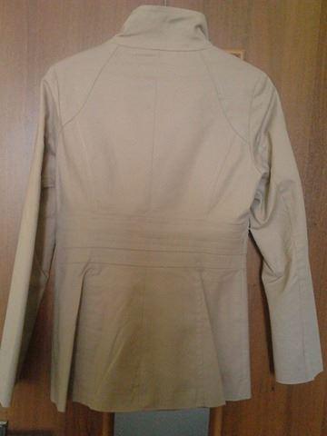 Béžový jarný kabátik / plášť, 38