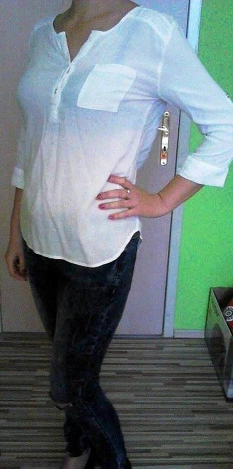 Biela blúzka, 38