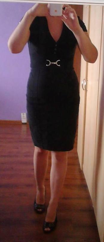 Čierne šaty Jane Norman, 38