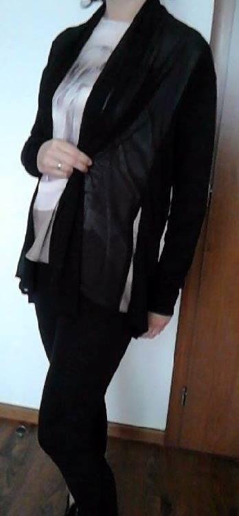 Čierny kardigan, 38