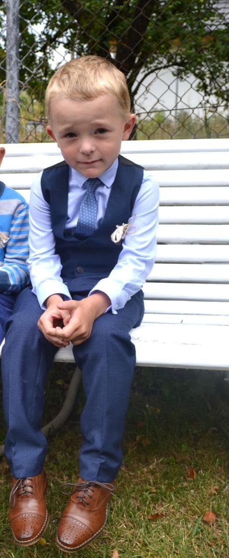 Košile + kravata + vestička Next, 104