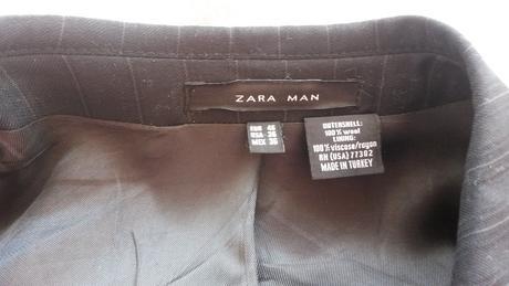 Pánsky oblek ZARA, 46