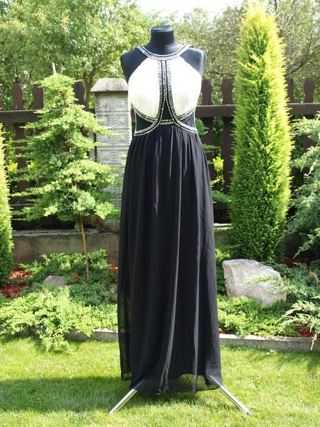čierne šaty-anticky štyl, 36