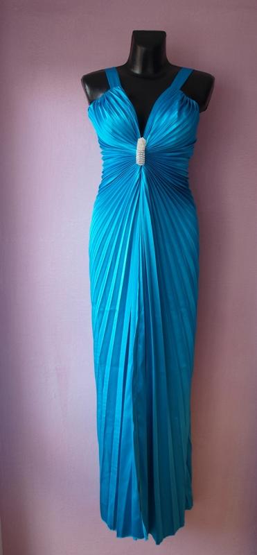 modre šaty, 40