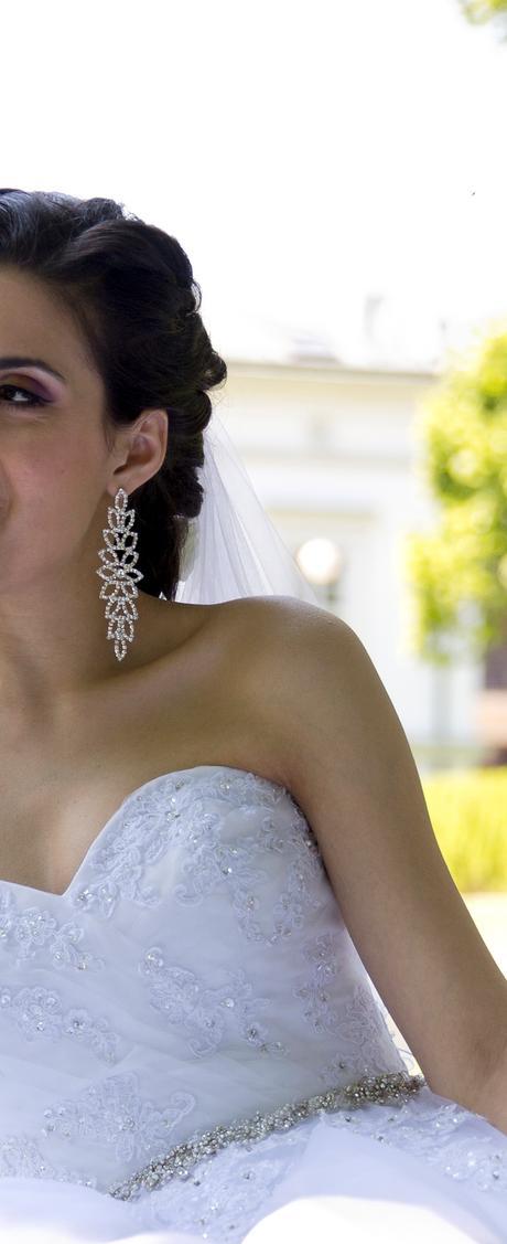 Svadobné náušnice,