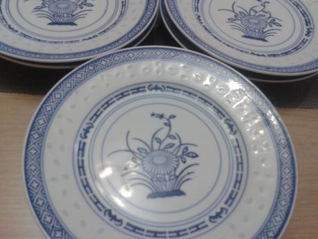 čínske dezertné tanieriky,