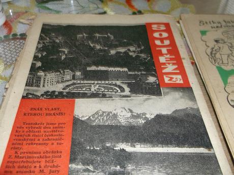 Staré zápisníky z roku 1957 ,