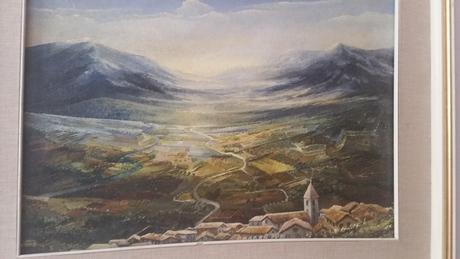 Krajinka - maľba na plátne,