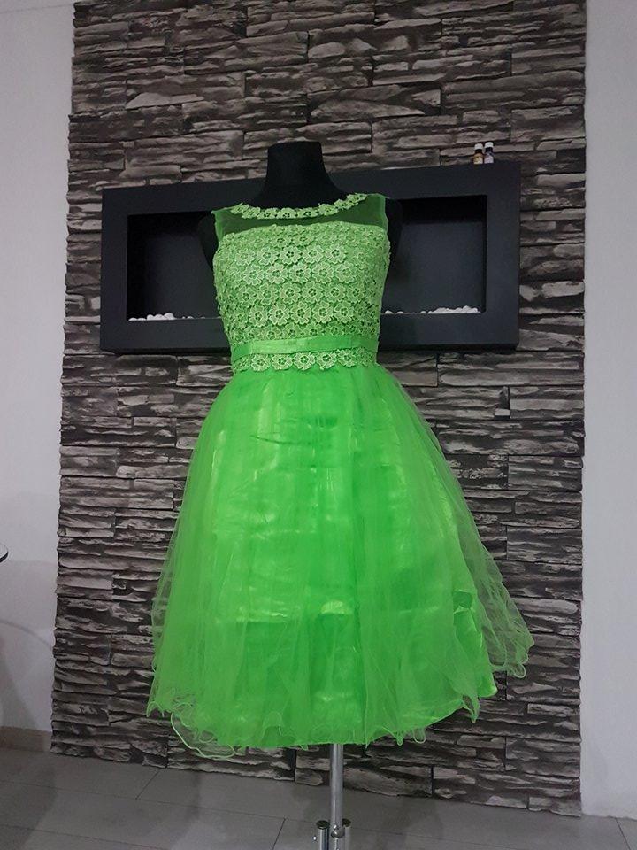 Krátke šaty popolnočné - pre družičky   36-42 e8294add1ce