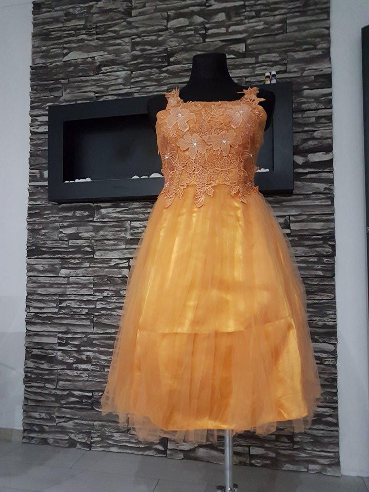 Krátke spoločenské šaty - 40 - 44 - l -xl a9edecb79eb