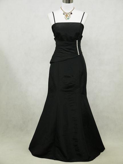 Čierne spoločenské šaty pre moletky -48-52 7e03b8242f3