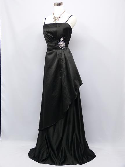 Čierne spoločenské šaty pre Moletky _ 46 -50 , 46