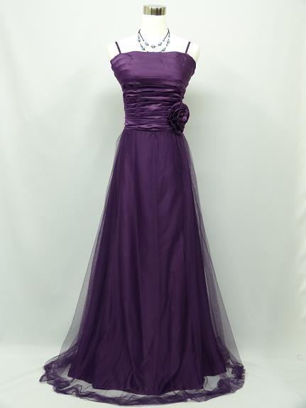 Fialové spoločenské šaty pre Moletky- 46 -50 , 48