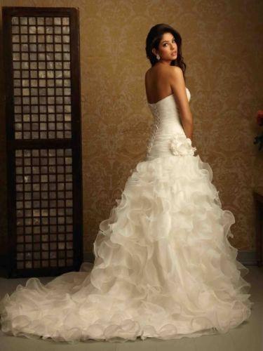 Jedinečné svadobné šaty od 32 po 38 do 48hod., 38