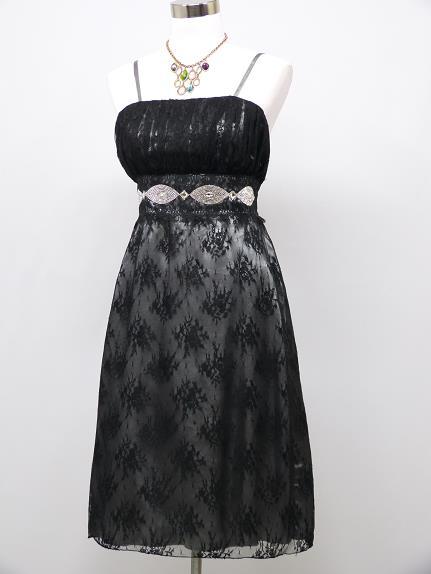 Krátke spoločenské šaty s čipkou - 42 -46, L