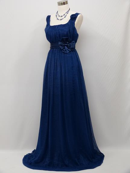 Modré spoločenské šaty - 36-40 f41baaaf148
