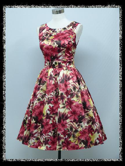 3c4290541716 Nadčasové retro šaty - 38 - 44