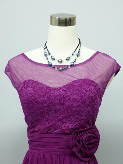 Nové spoločenské šaty aj pre Moletky - 44 -48, 48