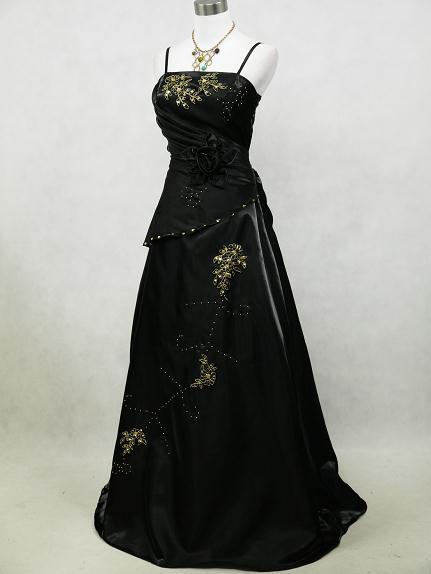 Šaty pre Moletky čierno zlaté - 48 -52 - XXL, 52