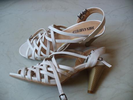 Sandále na opätku - nenosené, 38