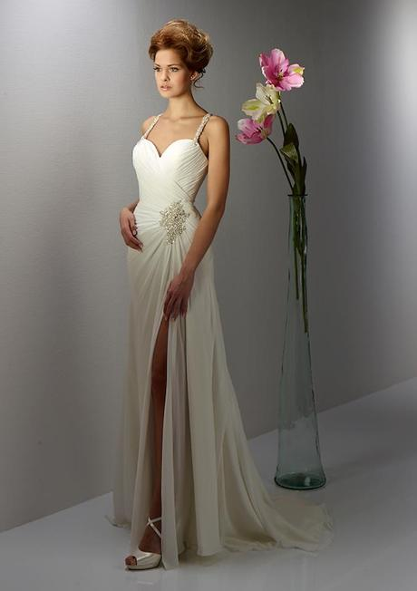 Svadobné šaty Diane Legrand model 13EM4 , 38
