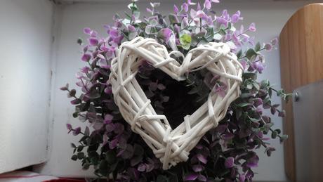 Svatební srdce na pověšení,