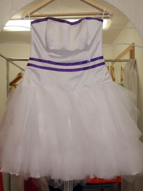 Krátké tylové šaty - popůlnočky, 36
