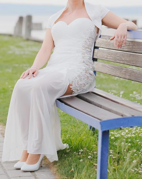 svadobné šaty originál zo salónu nicole, 36