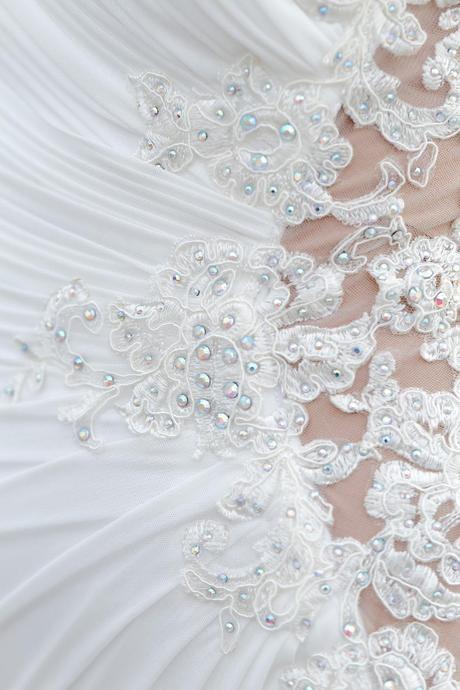 Svadobné šaty zo salónu nicole, 36