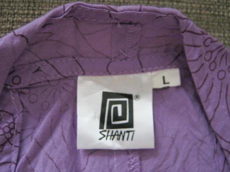 Top/halenka vel. L. fialová, zn. Shanti, L