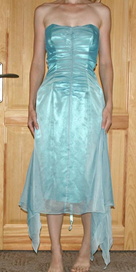 Asymetrické šaty Charas vel 34-36, 34
