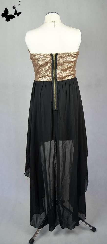 Asymetrické šaty Missguided vel 38, 38