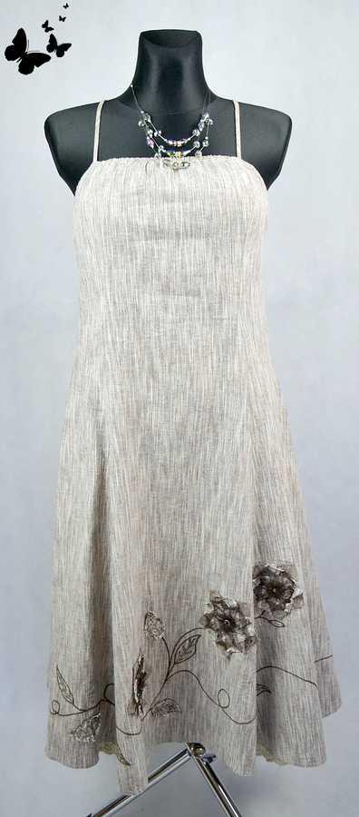 Bavlněné elegantní šaty vel 40-42, 42