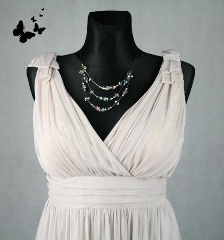 Béžové šaty Début vel 42, 42