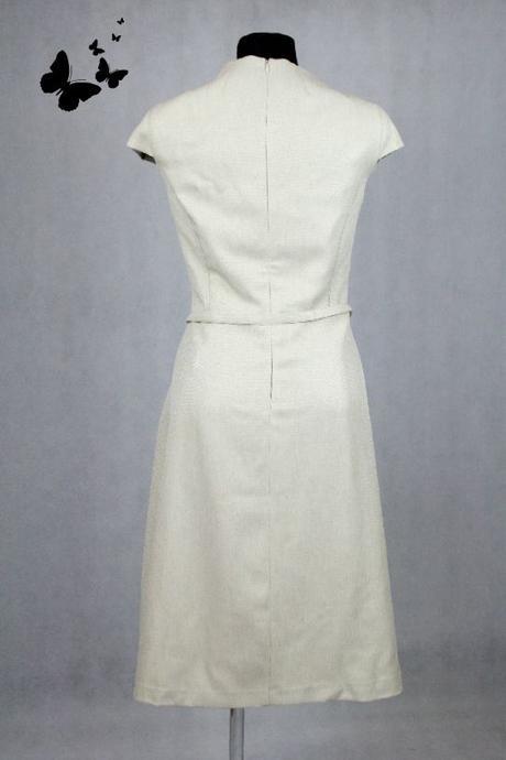 Béžové šaty velikost 46, 46