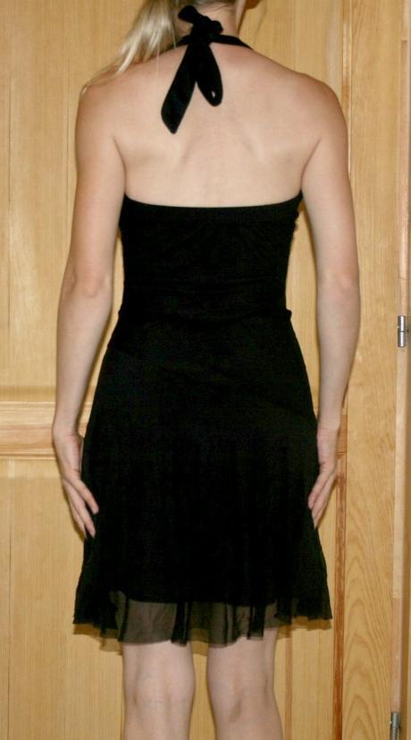 Černé společenské šaty Bay vel 34-36, 36