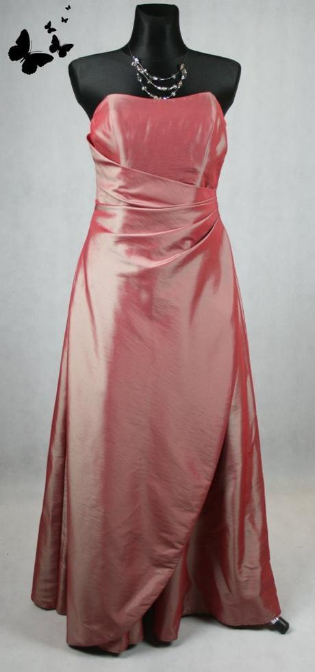 Dlouhé červené šaty se šátkem vel 38, 38