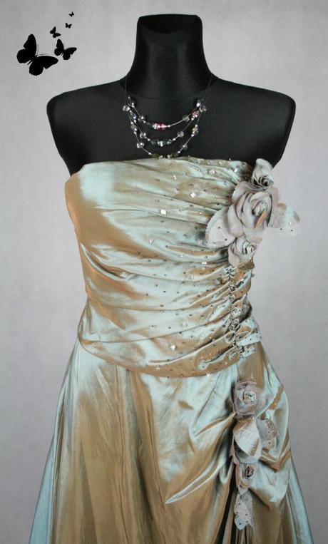 Dlouhé elegantní plesové šaty vel XS, 36
