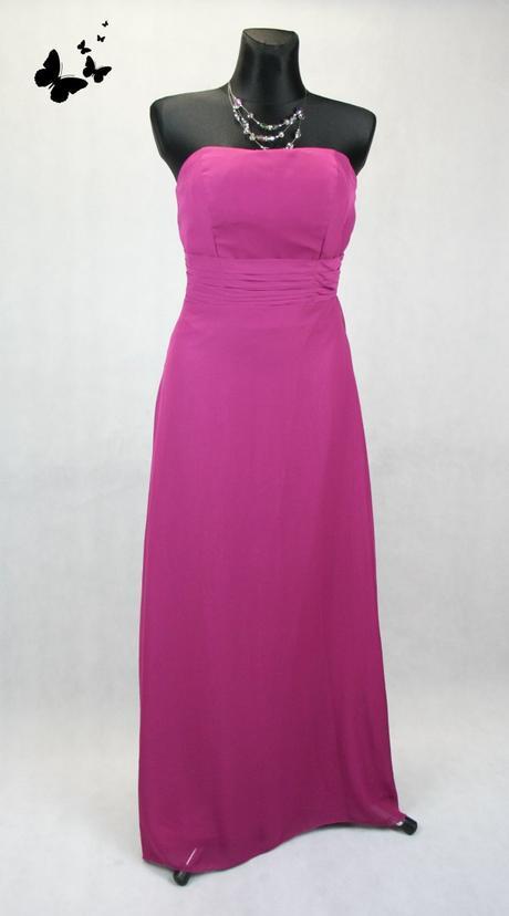 Dlouhé korzetové fialové společenské šaty vel 36-3, 38