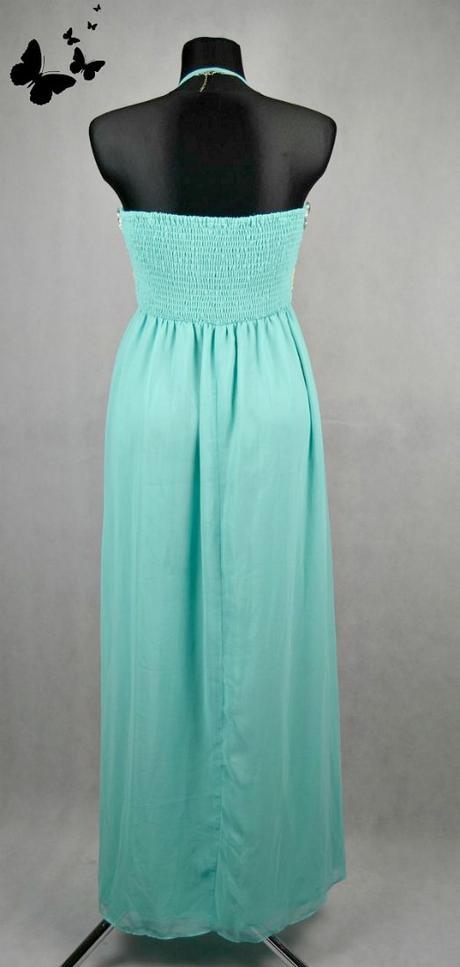 Dlouhé pestrobarevné šaty vel 42-44, 42
